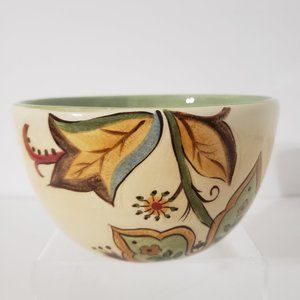 Pier One Imports Floral Carynthum Soup Bowl